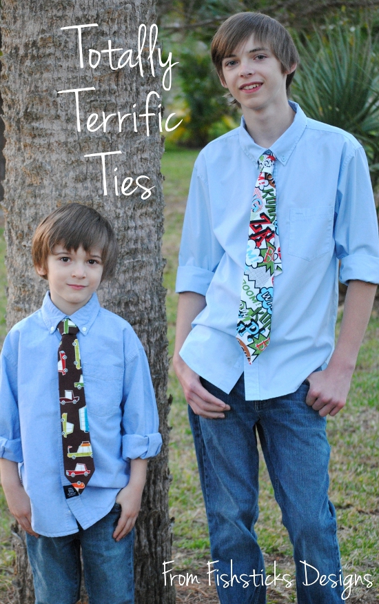 terrific boys neck tie