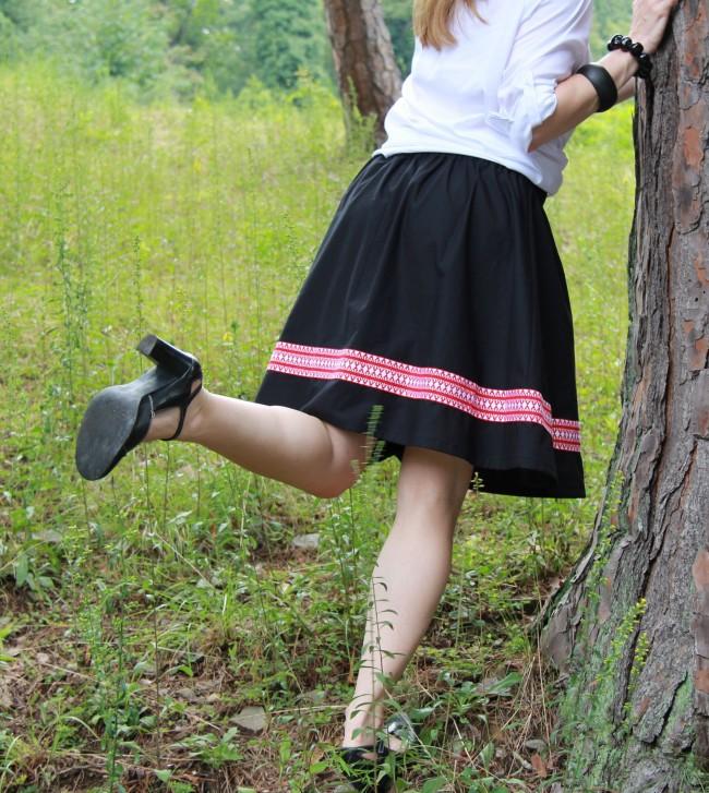 black german heel kick b