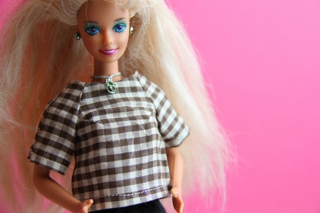 handmade barbie blouse h