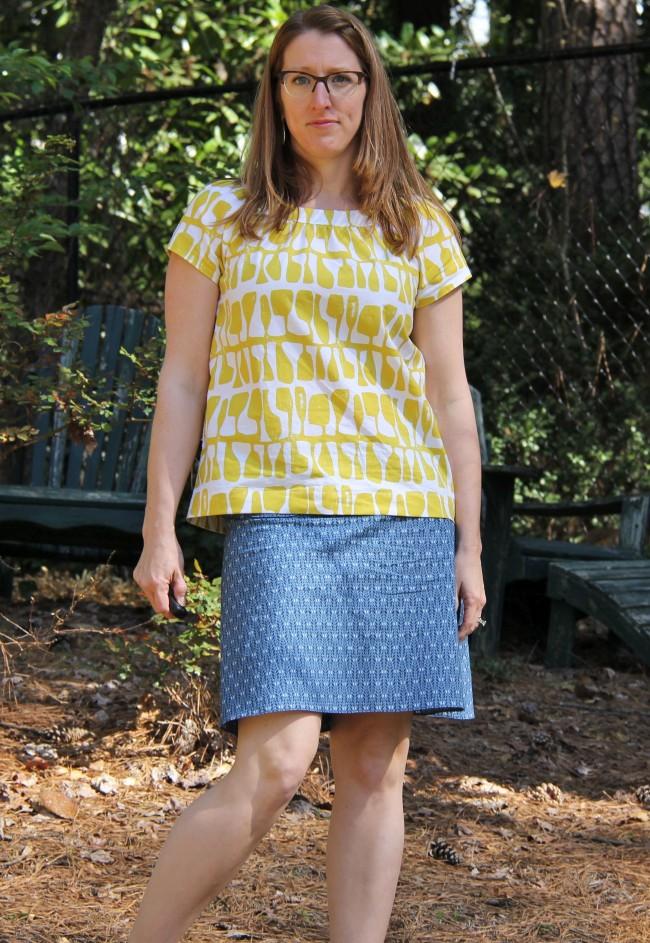 ad hoc skirt for easter