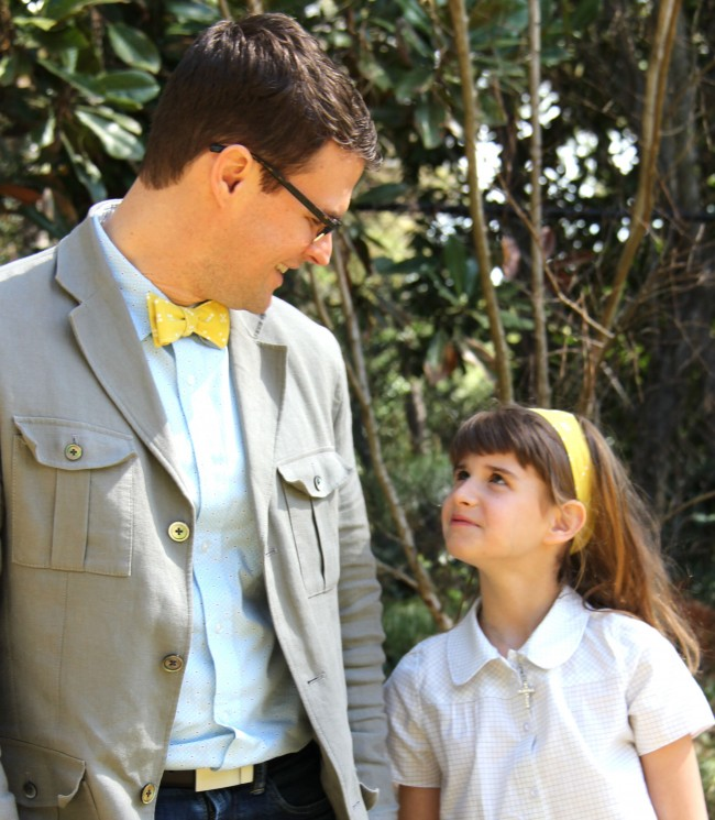 father daughter matching outfits for easter
