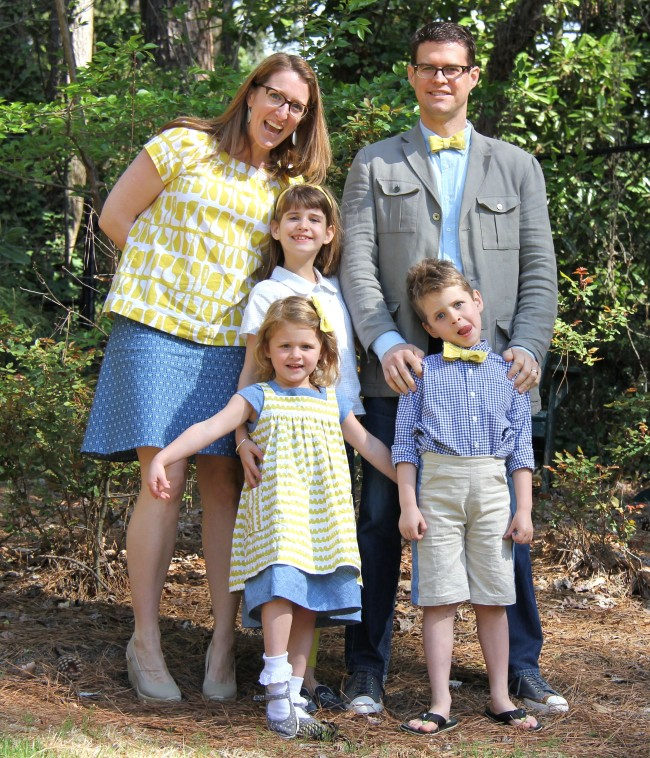 matching family easter 2015