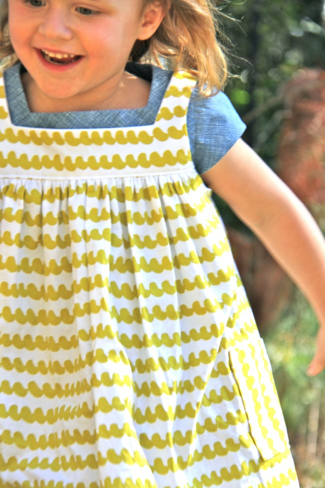 the pinafore sewing pattern