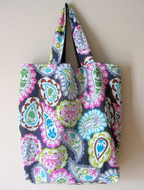 stitch by stitch reversible tote