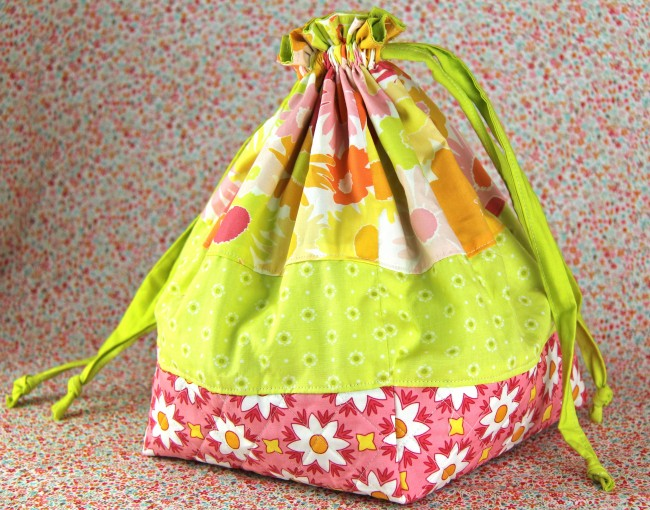 quilted drawstring bag 3