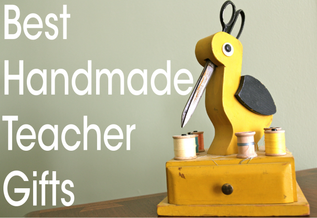 best handmade teacher gift tutorials