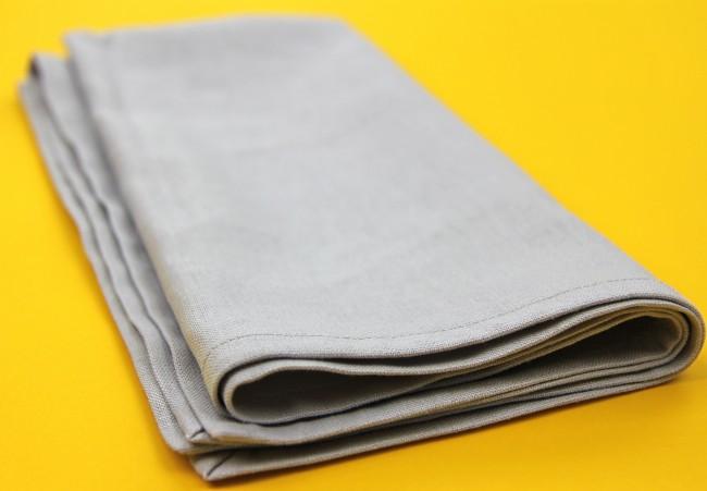 linen dinner napkin DIY