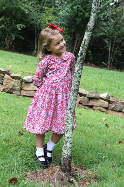 Great look for little girls--the Flip Flop Dress sewing pattern from Whipstitch