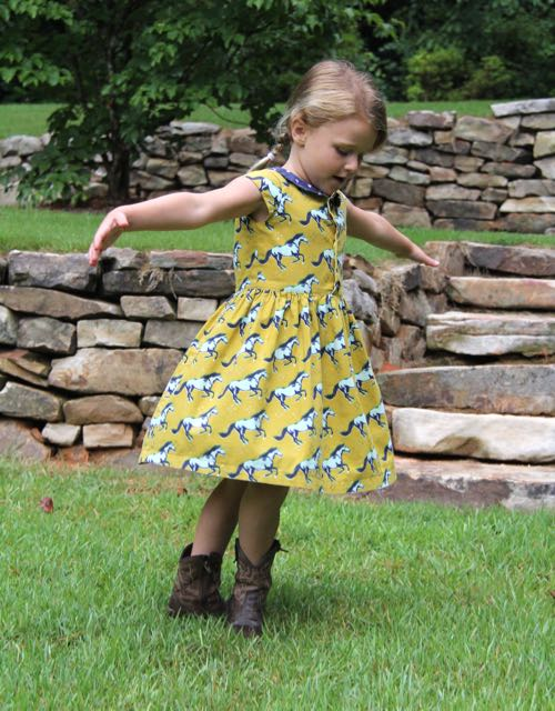 twirly flip flop dress