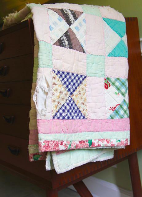 vintage gramma made quilt