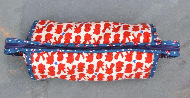 Japanese cotton linen and Denyse Schmidt sew together bag