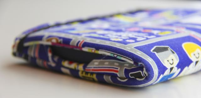 Kindle cover sewing tutorial UPDATED | Whipstitch blog