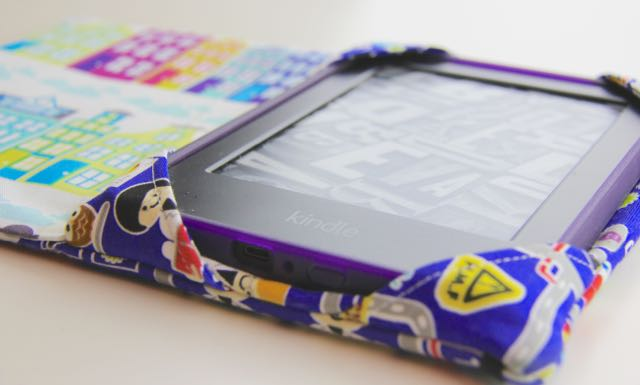 Sew a Kindle cover for kids | Whipstitch blog