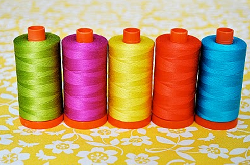 aurifil thread spools