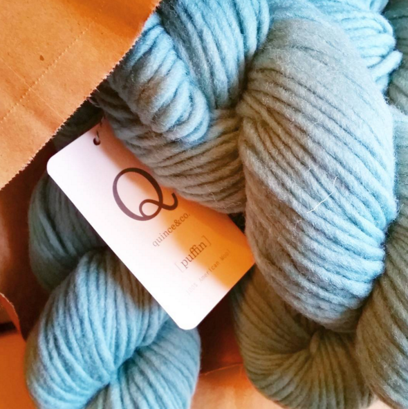 Quince & Co Puffin yarn
