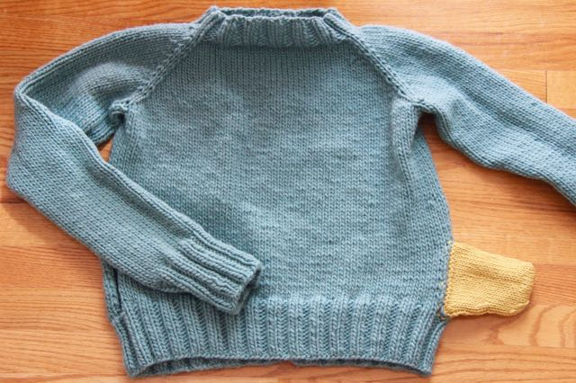 finished Agnes sweater