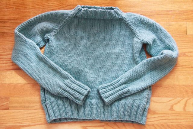 first sweater