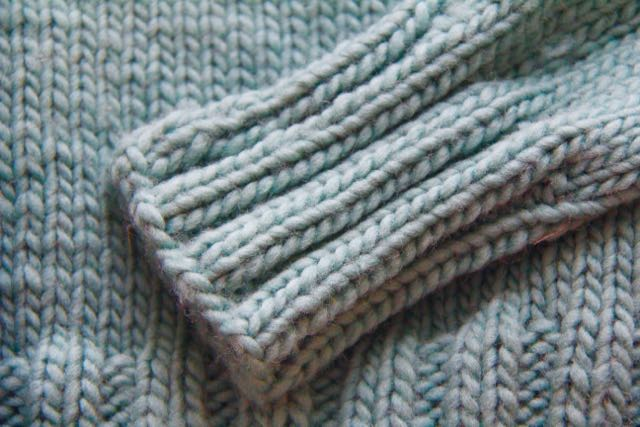 ribbed cuff Agnes sweater