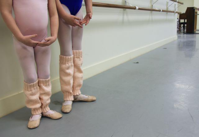 ballet leg warmers