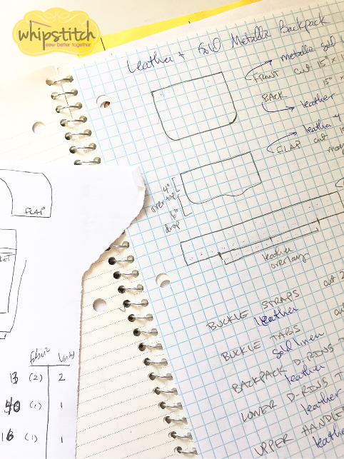 creative organization tools | spiral notebook | Whipstitch