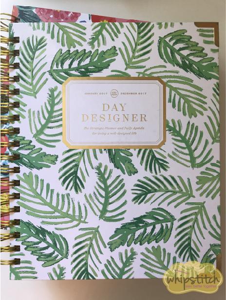 organization for creative jobs | day designer planner | Whipstitch