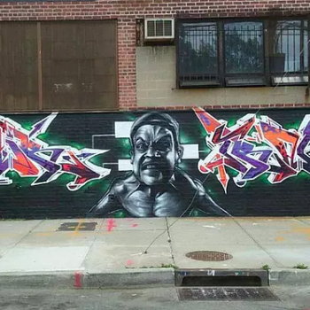 Harley Flanagan Mural