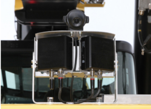 Orlaco Radar Eye sensor and camera