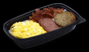 Winchell's Deluxe Breakfast Platter
