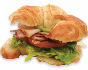 Winchell's Turkey Club Croissant
