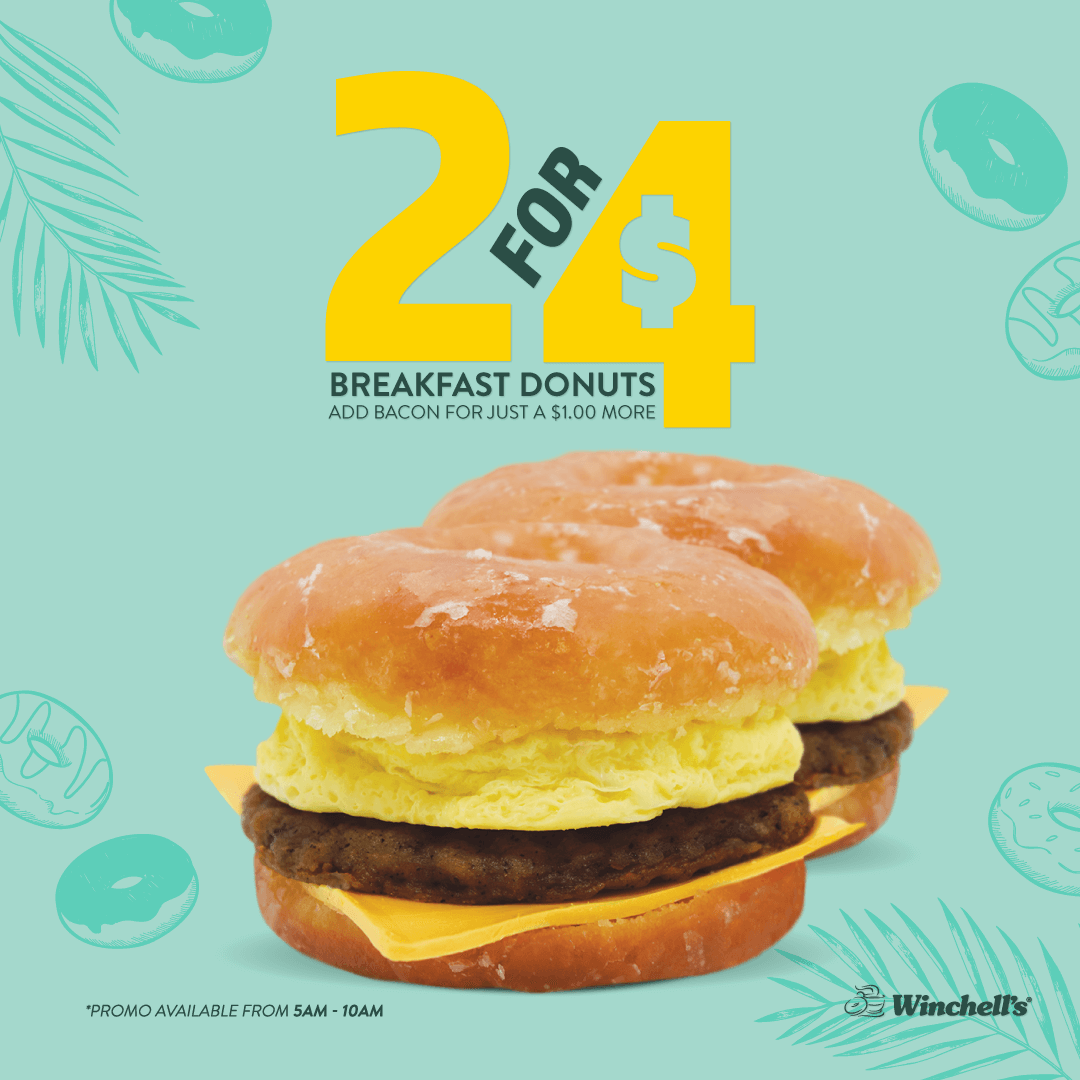 Summer_Promotions-2for4_Breakfast_Donut
