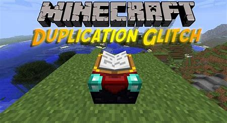 minecraft duplication glitch