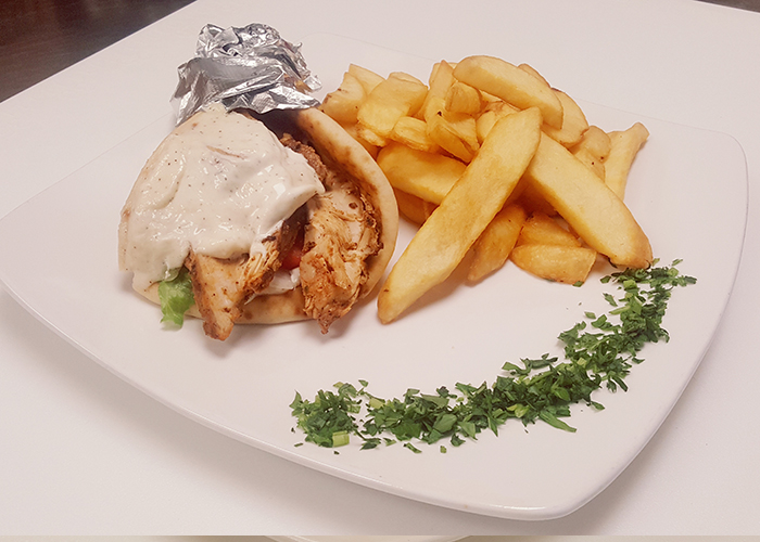 Chicken Shawerma Sandwich