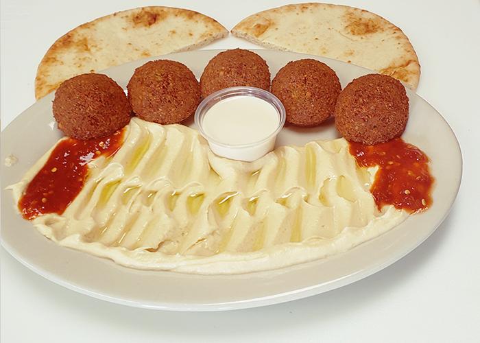 Falafel Hummus Combo