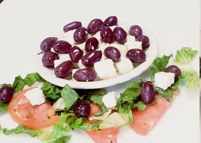 Feta Cheese and Olives