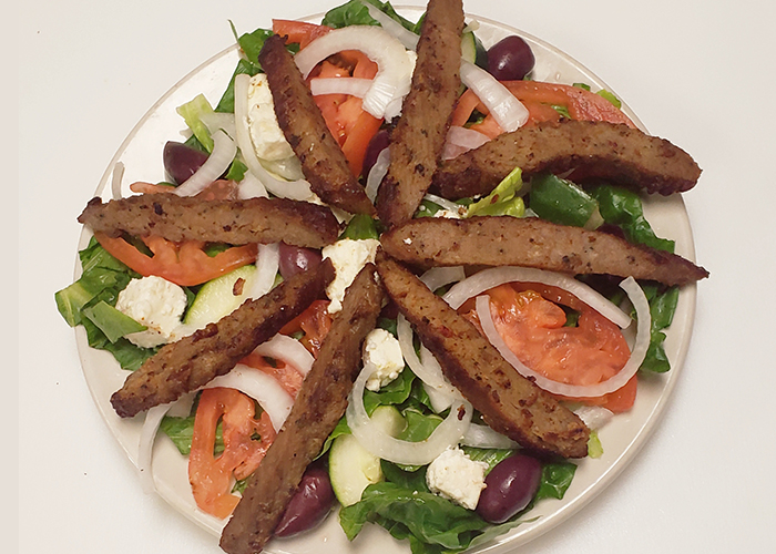Large Gyro Meat Salad