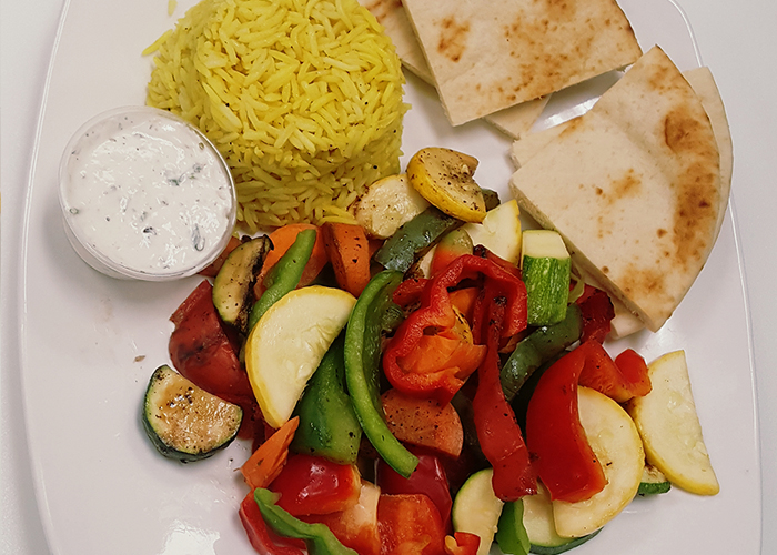 Mixed Vegetable Plate