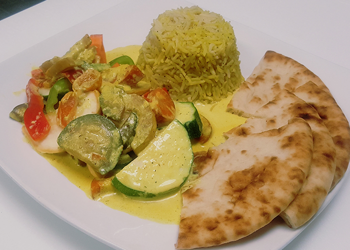 Vegetables curry