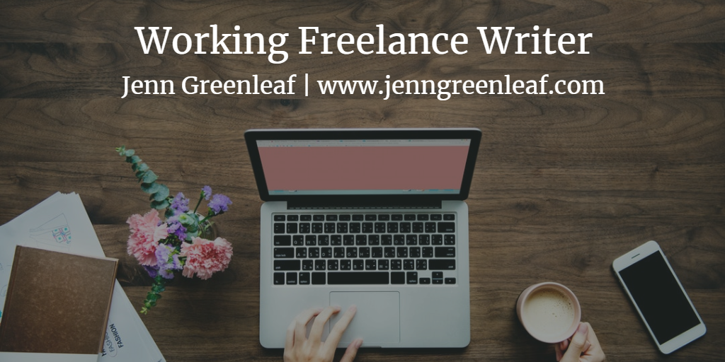 Working Freelance Writer
