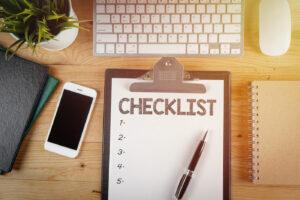 apartment tour checklist
