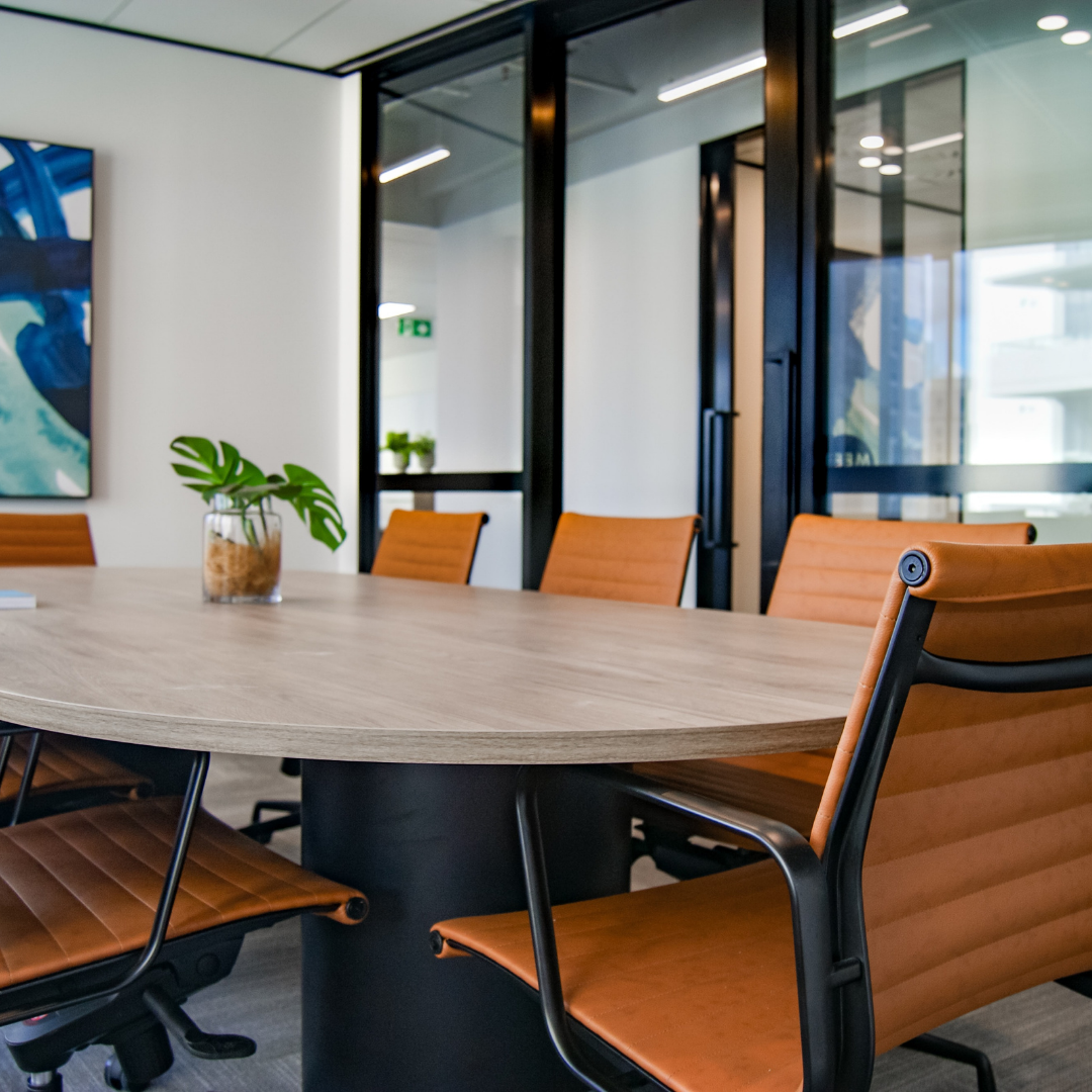 Conference room for Finance Lease