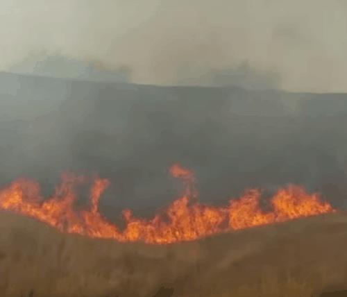 Israel under fire, Israel, arson, Voice4Israel, V4I