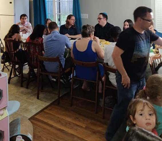 Shabbat Dinner, Voice4Israel
