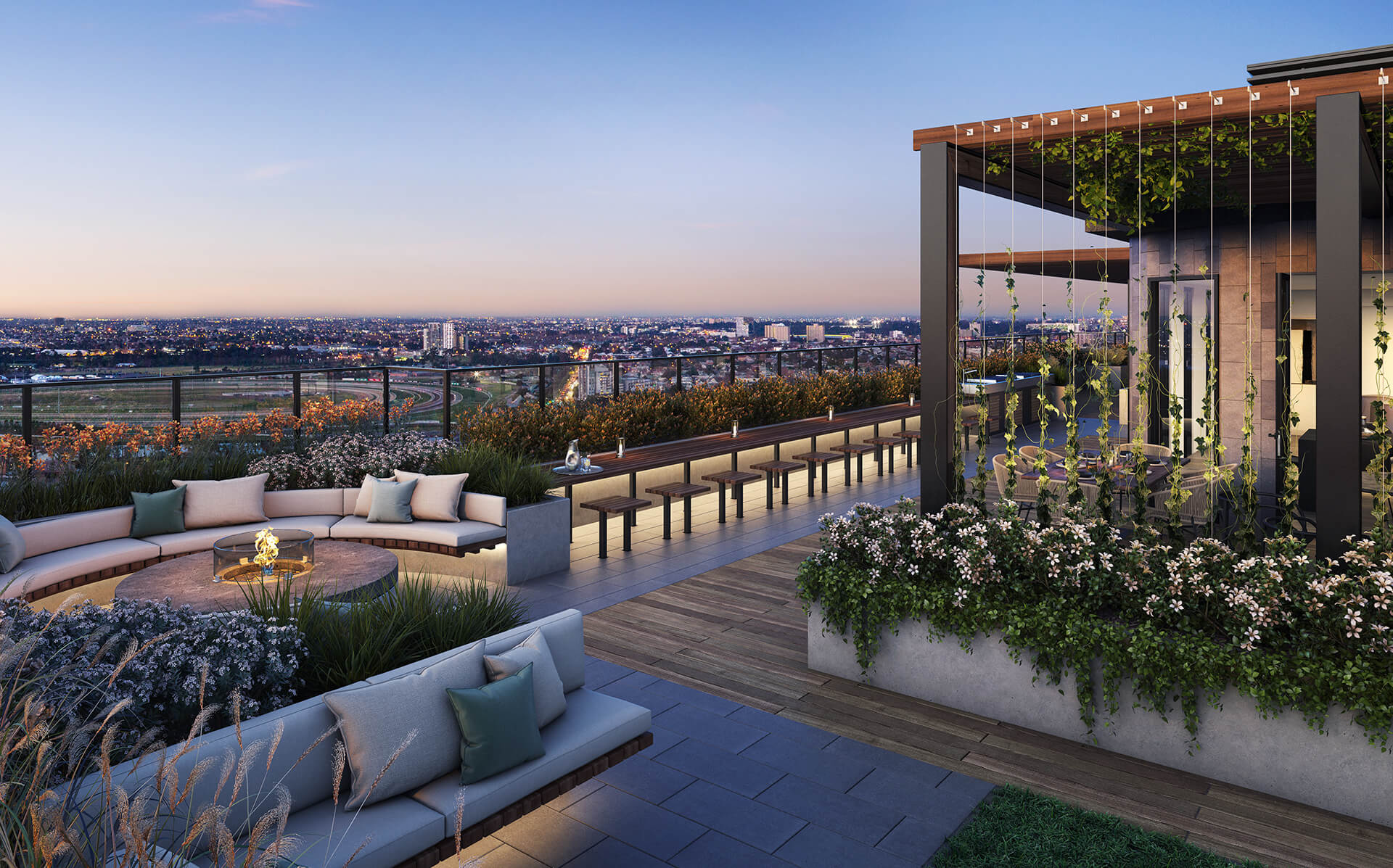 Rooftop - Outdoor Dining and BBQ
