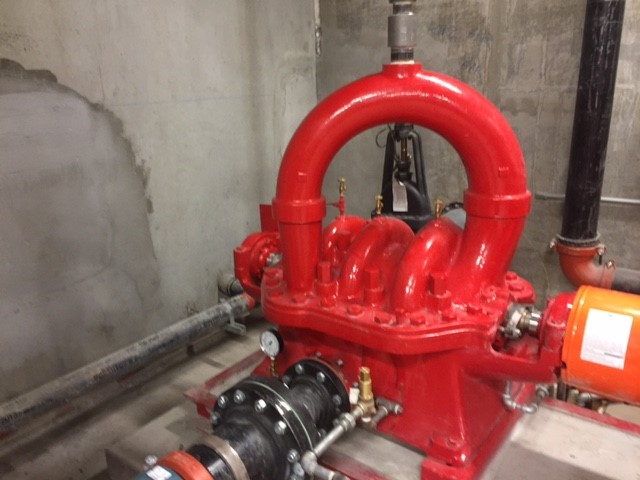 Industrial Fire hydrant water Pump for fire safety National Service And Controls servicing all Southern California and some of Northern CA