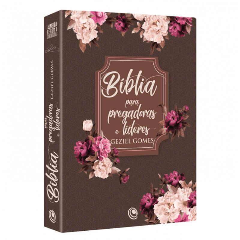 Biblia para pregadoras e lideres geziel gomes floral
