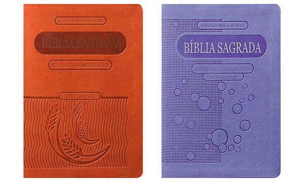 Bíblias compactas para homens mulheres