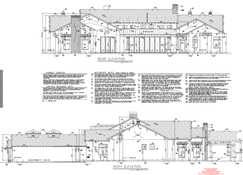 10834 E Laurel Ln. Scottsdale, AZ 85259 Rear Elevation // Emily Wertz, Local Real Estate // JustClickYourHeels.com
