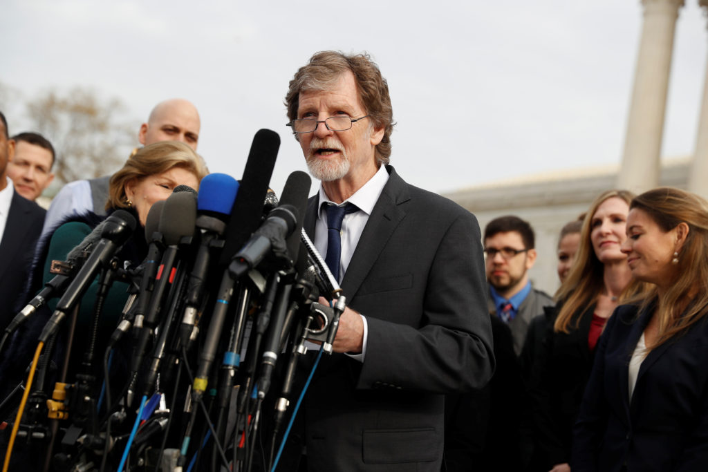 Supreme Court Sides with Colorado Baker in Gay Rights Case