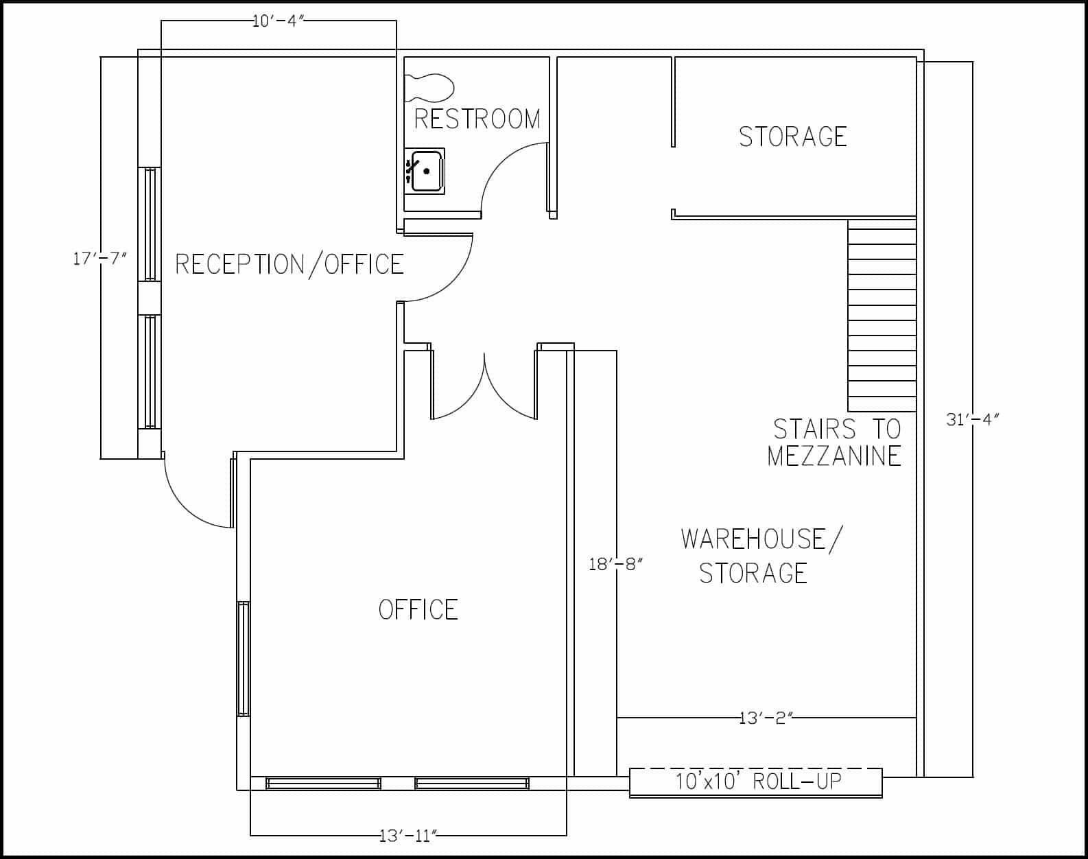 Suite E1 Floor Plan