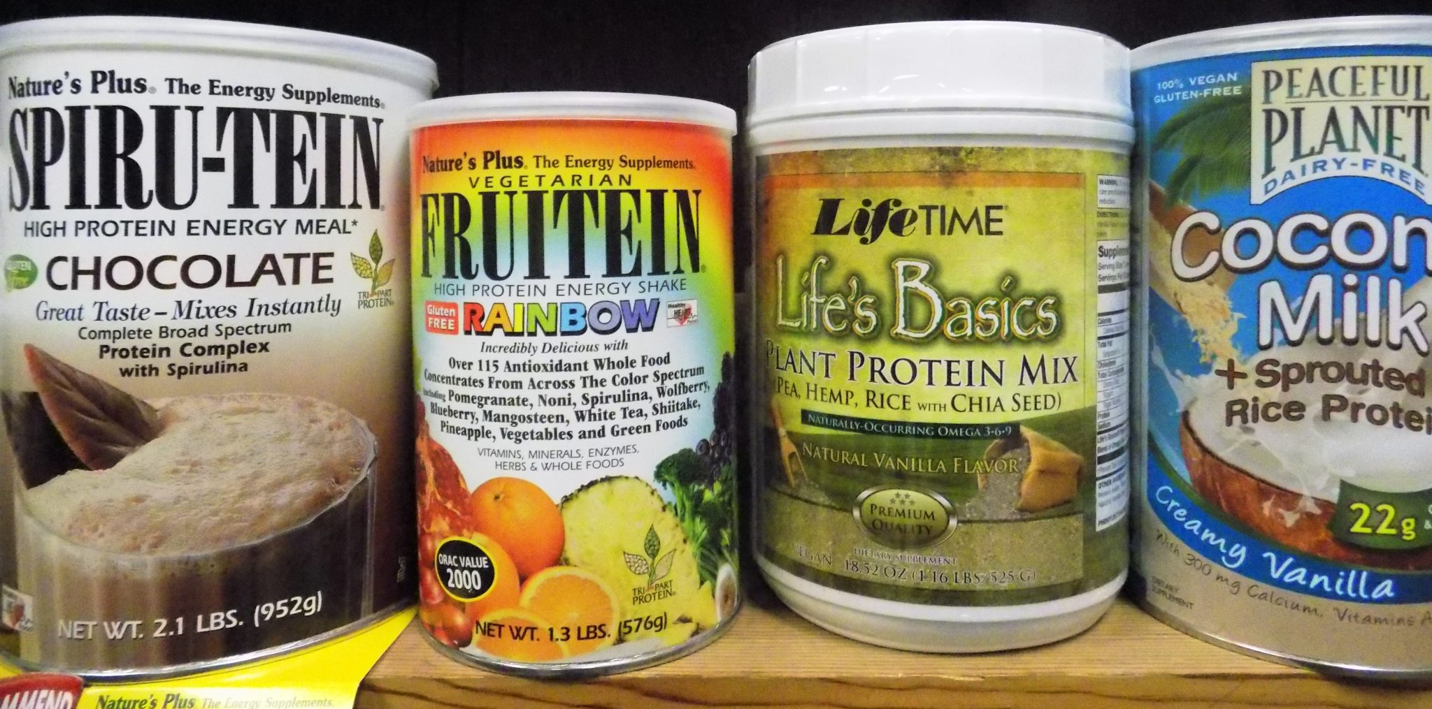 More Protein Powders